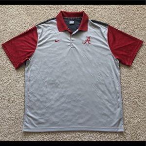 Nike Alabama Crimson Tide Dri Fit polo shirt 2XL